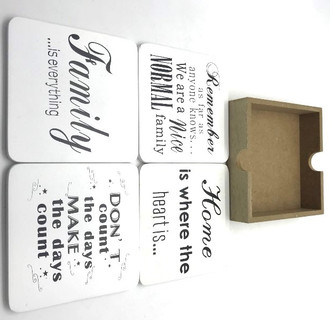 Coasters home set 4