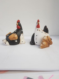 Funky roosters 8 cm