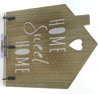 Key rack home sweet home 19 x 23 cm
