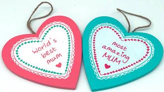 Hearts mum 2 asst