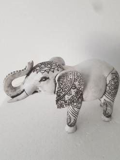Afrika Elephant 24cm