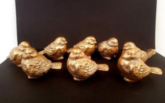 Birds Gold 8cm 2ast