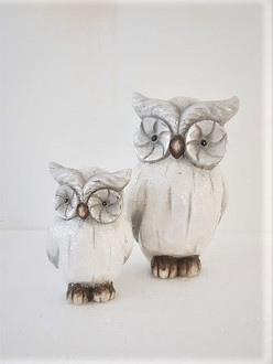 Owl Grey 11cm