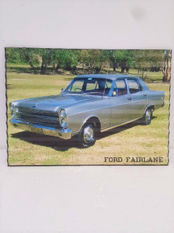 Sign Ford Fairlane 30x40cm