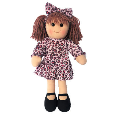 Evelyn - leopard print dress with matching headband