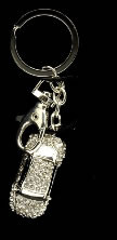 Key Ring Diamante Car - Boxed
