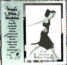 18th Birthday Frame & Verse