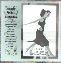 80th Birthday Frame & Verse
