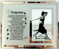 Footprints Verse & Photoframe