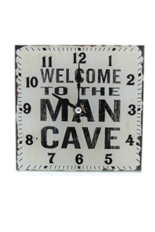 Welcome to the Man Cave Clock