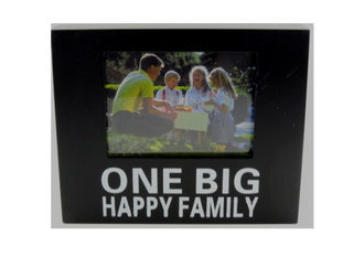 One Big Happy Family Photo Frame/Block