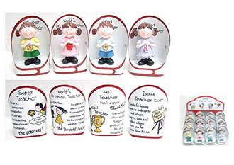 Teacher Polly Figurines 4 ast styles