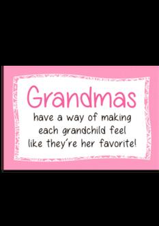 Grandma Plaque