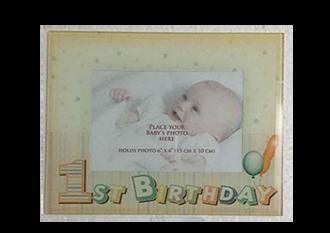 Baby's 1st Birthday Frame