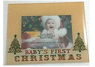 Baby's First Xmas Photo Frame