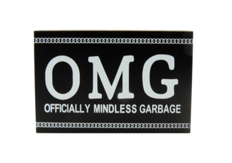 OMG Word Block 15 x 10cm