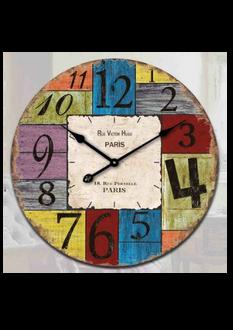 Rue Victor Hugo Clock - 30cm