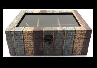 Autumn Stripe Box 25x17x10cm