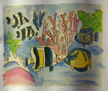 Photo of FISH KISSING  OIL PAINTING