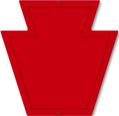 Photo of 28th Infantry Division PATCH SIGN, ON HEAVY METAL HAS HOLE(S) FOR EASY INSTALLATION. THIS SIGN HAS RICH COLORS AND GREAT DETAIL.  WE HAVETHREE LEFT IN STOCK, NO LONGER AVAILABLE
