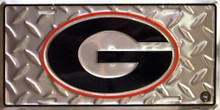GEORGIA BULLDOGS COLLEGE LICENSE PLATE