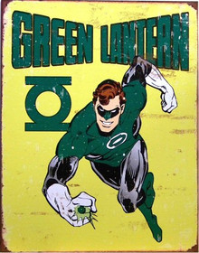 GREEN LANTERN SUPER HERO SIGN GREAT GRAPHICS AND COLORS