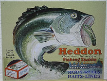 HEDDON FROGS SIGN