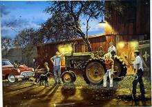 HORSESHOE PITCHIN FARM SIGN