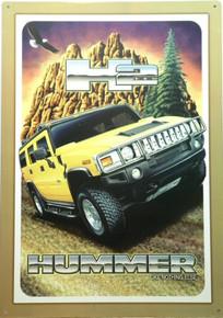HUMMER 2 SIGN
