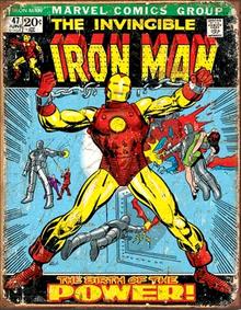 IRON MAN COMIC COVER SIGN