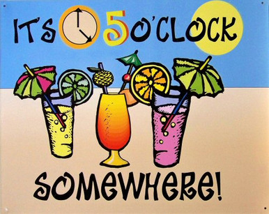 IT 5 O'CLOCK SOMEWHERE SING