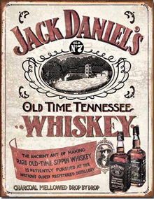 JACK DANIELS SIPPIN WHISKEY SIGN