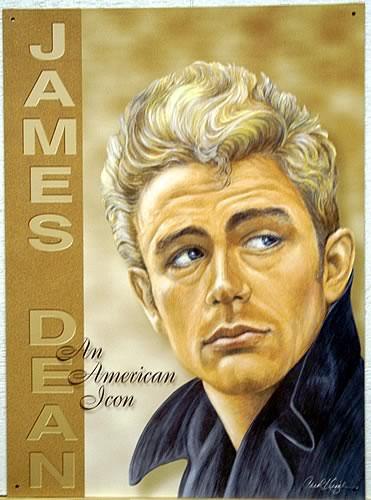 JAMES DEAN AMERICAN ICON SIGN