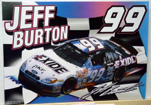 JEFF BURTON  - NASCAR SIGN