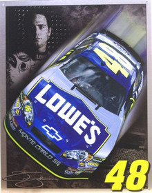JIMMIE JOHNSON NASCAR SIGN