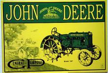 JOHN DEERE  A  SERIES TRACTOR SIGN