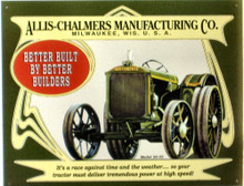 Photo of ALLIS CHALMERS # 20 - 35 TRACTOR SIGN, GREAT FOR THE ALLIC CHALMERS FAN'S COLLECTON