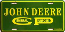 JOHN DEERE GEN. PURPOSE TRACTOR SIGN