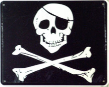 JOLLY ROGERS SIGN