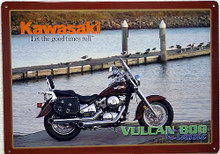 KAWASAKE CLASSIC MOTORCYCLE SIGN