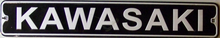 KAWASAKI MOTORCYCLE SIGN