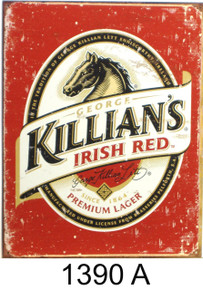 KILLIANS BEER LABEL SIGN