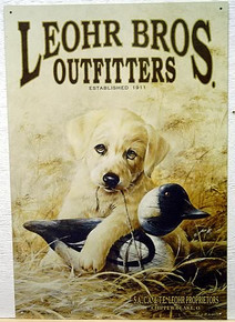 LEOHR BROS. OUTFITTERS SIGN