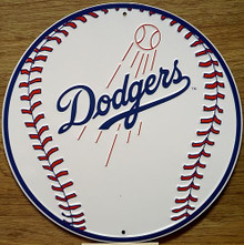 LOS ANGELES DODGERS BASEBALL SIGN