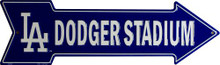 LOS ANGELES DODGERS BASEBALL ARROW SIGN