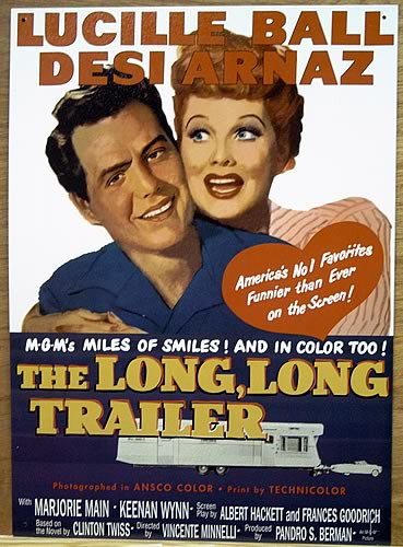 LUCY-DESI   LONG TRAILER MOVIE SIGN