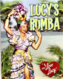 LUCY'S RUMBA SIGN