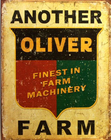 Tractor Farm Collectible Vintage Tin Signs