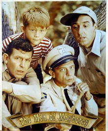 MEN OF MAYBERRY SIGN