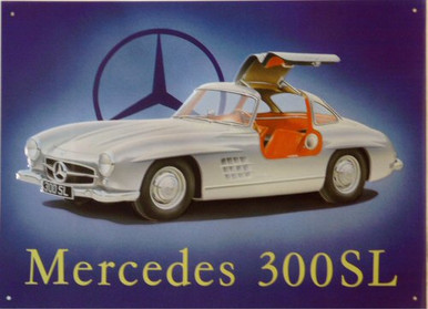 MERCEDES 300 SL SIGN